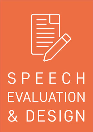 servicii speech evaluation design